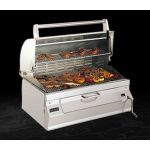 Fire Magic Charcoal Built-In Grill w/ Smoker Oven/Hood - 14-SC01C-A