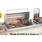 Fire Magic Legacy Regal I Counter Top Grill - 34-S1S1N-A