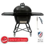 Primo Oval LG 300 All-In-One Charcoal Grill/Smoker - Model 7500
