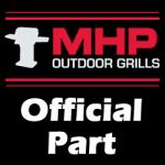 """MHP Grill Part - 5/16"""" SS ROD WITH RIGHT CORNER NOTC - CG79SS-RT"""
