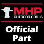 "MHP Grill Part - 19"" LONG ANGLE HEAD BASTING BRUSH - BB5"