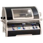 Fire Magic Echelon H790i 36'' Black Diamond Built-In Grill - H790i-8E1-W