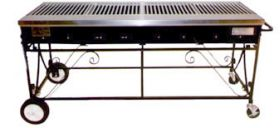 Lazy Man Country Club A4CC 8 Burner Barbecue Gas Grill - A4CC