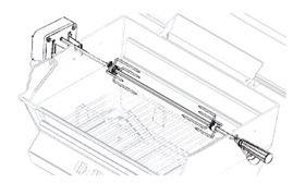 Broilmaster Heavy-Duty Standard Rotisserie - DPA51