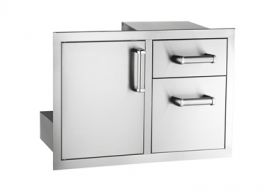 Fire Magic 18x30 Door/Double Drawer Series 5 - 53810S
