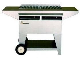 Lazy Man Stainless Steel Elite 4 Burner Gas Grill - A2CC-SSE