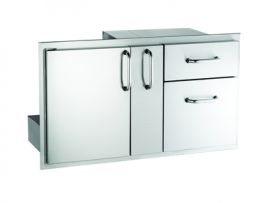 Fire Magic 18x36 Door/Double Drawer Series 3 - 33816S