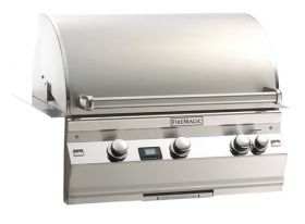 Fire Magic Aurora A530i 24'' Built-In Gas Grill w/Rotisserie A530i-2E1