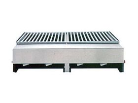 Lazy Man Open Hearth Model ''A'' Series Built-In 4 Burner Gas Grill