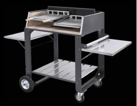 Fontana Forni Egeo 80 Wood or Charcoal Grill - Egeo80