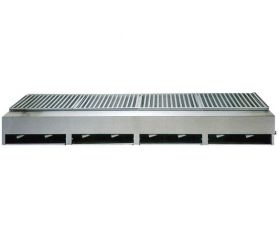 Lazy Man Open Hearth Model ''A'' Series Counter Top 8 Burner Gas Grill