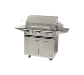 ProFire 36'' Gas Grill Portable Cart Model with Rotisserie - PF36RCD