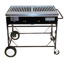 Lazy Man Country Club A2CC 4 Burner Barbecue Gas Grill - A2CC
