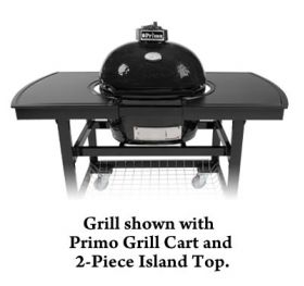 Primo Oval JR 200 Charcoal Grill/Smoker - Model 774