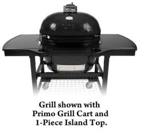 Primo Oval XL 400 Charcoal Grill/Smoker - Model 778