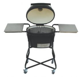 Primo Oval Junior Ceramic Charcoal Grill and Smoker - PR774B