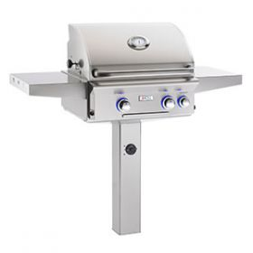 """American Outdoor Grill 24"""" In-Ground Post Gas Grill - L Series"""