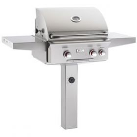 "American Outdoor Grill 24"" In-Ground Post Gas Grill - T Series"