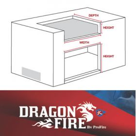 Dragon Fire Built-In Grill Options