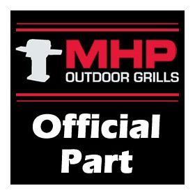 """MHP Grill Part - 13-1/4"""" PIPE BURNER / OUTDOOR GOURM - OGTB1"""
