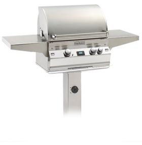 Fire Magic Aurora A430s 24'' Post Gas Grill w/ Rotisserie A430S-2E1-G6