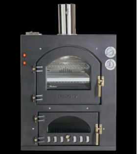 Fontana Forni Inc Q 80x54QV Wood Fired Pizza Oven -Built-In INC80x54QV
