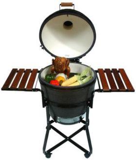 Primo Round Kamado Charcoal Grill and Smoker - PR779B