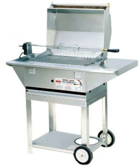 Lazy Man MG-25 Mobile Barbecue Gas Grill - MG-25 MOBL