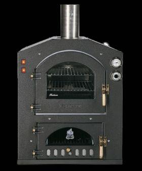 Fontana Forni Inc 80x54V Wood Fired Pizza Oven - Built-In -INC80x54V
