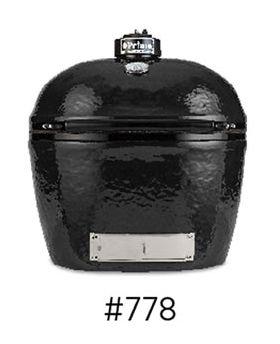 Primo Oval XL 400 Charcoal Grill/Smoker Head - Model 778