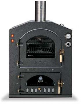 Fontana Forni Inc 57V Wood Fired Pizza Oven - Built-In - INC57V