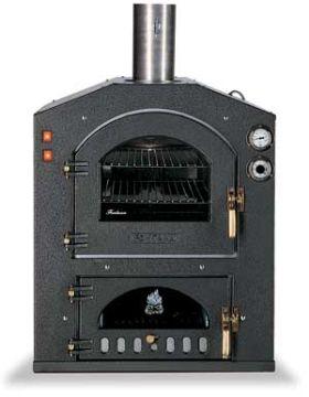 Fontana Forni Inc 80V Wood Fired Pizza Oven - Built-In - INC80V