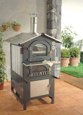 Fontana Forni Gusto 100AV Wood Fired Pizza Oven - 100AV
